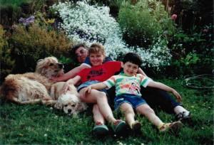 Marius su seneliu, Rudziu ir Dzesi