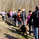 Balandžio mėn. žygio Pavilnių regioniniame parke atgarsiai